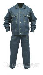 Suit worker jeans