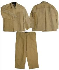 Suit tarpaulin for the welder (fire-resistant in