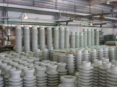 Porcelain electrotechnical