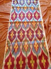 Natural IKAT silk