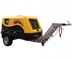 Diesel mobile compressors of the Portair series