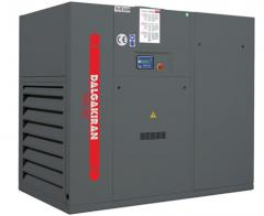 The screw DVK Series compressors with a belt drive