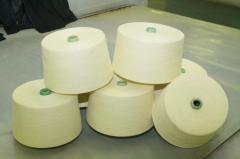 Yarn cotton of 100%