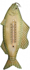 Room D-21 thermometer Fish