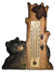 Room D-24 thermometer Bear