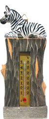 Thermometer room wooden D - 29