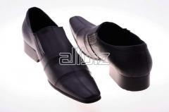 The footwear is model man's