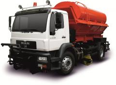 MAN CLA 18.280 4X2 BB CS45 – the combined road car