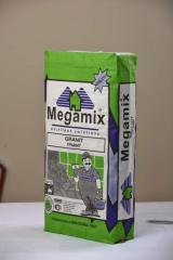 The mix Megamix Granit Granite for gluing of