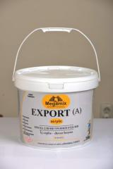Paint for internal finishing of Megamix EXPORT (A)