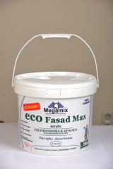 Silicone paint for external finishing of Eco Fasad