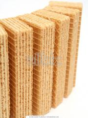 Wafers in assortment - on 3 kg. in a box (dairy,