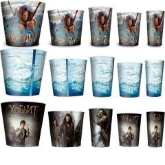 Paper cups for popcorn of 340 ml