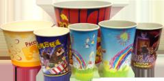Бумажные стаканчики для попкорна 450 мл