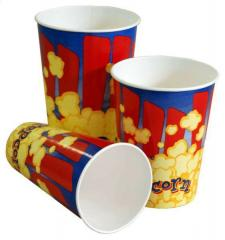 Paper cups for packaging of 370 ml
