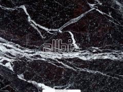 Natural marble.