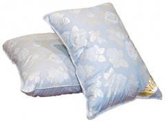 Pillows are cotton