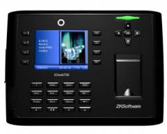 Biometric terminal of control of access and