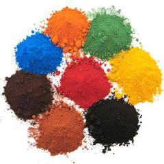 Pigment for paving slabs
