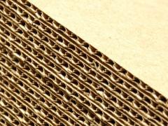 Gofrotara, a corrugated cardboard in Tashken