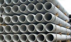 Los tubos para el desagüe