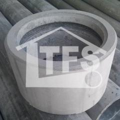 Couplings are asbestos-cemen