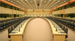 Furniture for conference halls