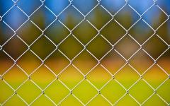 Grid metal chain-link