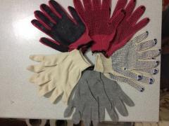 Перчатки промышленные