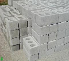 Шлакоблоки фундаментные