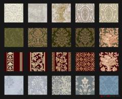 Fabrics brocade