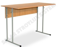 School desk student's No. 6