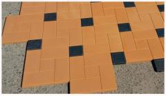 Paving slabs, stone blocks in Tashkent in