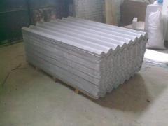 Slate asbestos-cement shee