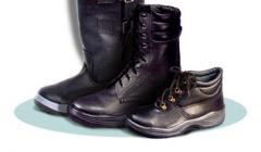 Working footwear, protective footwear, military