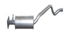 Глушитель передний EURO 3 MUFFLER A1 FRONT EXHAUST