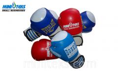 Boxing gloves Mini teks