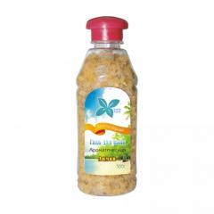 Соль для ванн с эфирными маслами Лимон