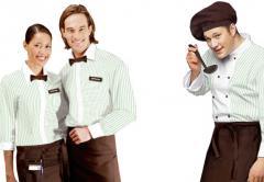 Униформа для персонала гостинец, ресторанов, продавцов, охраны