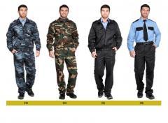 Vêtements, uniforme de la garde