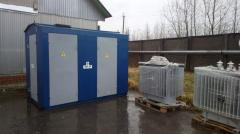 Substations transformer internal installation