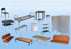 Furniture for hospitals