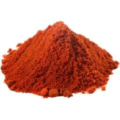 The paprika is sweet ground