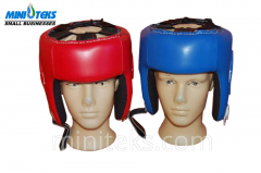 Helmets are boxing
