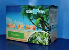Bath salt Curative herbs Stevia