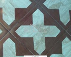 Tiles for a floor ceramic