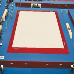Carpets for rhythmic gymnastics
