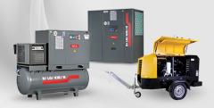 Compressors screw air, compressor equipment,