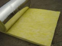 Glass wool folgirovanny