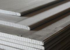 Gypsum cardboard wall and ceiling